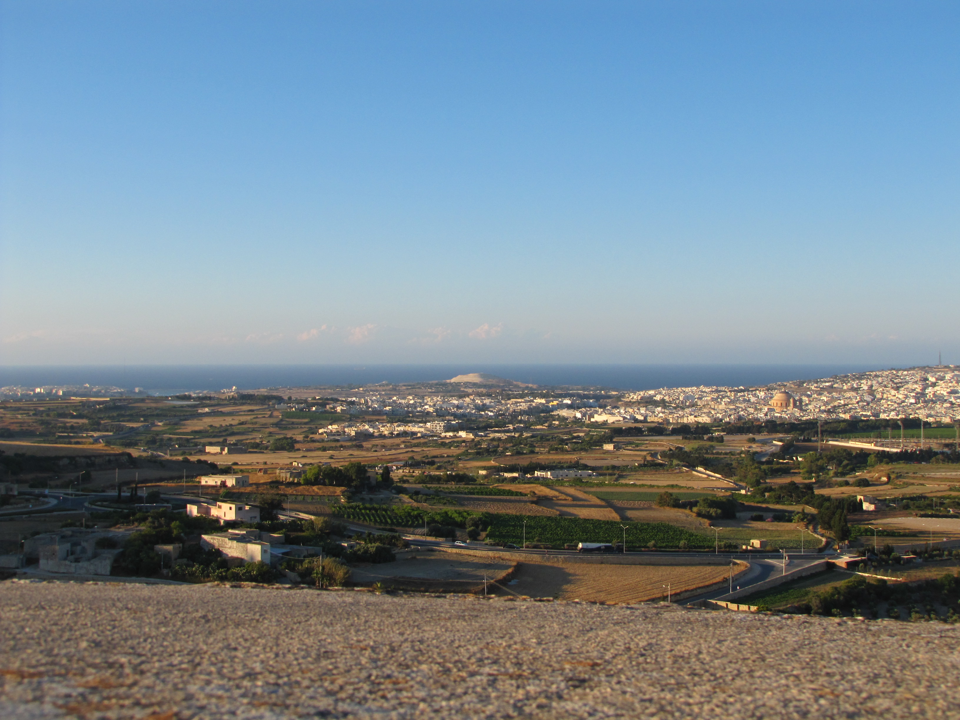 Поглед към град Моста
