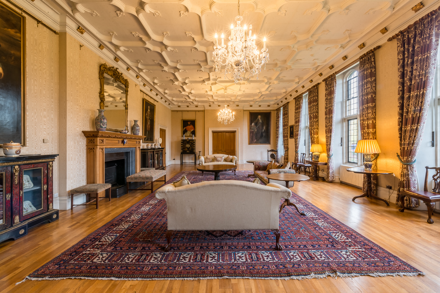 Lambeth Palace State Drawing Room 2017 by Alex Baker Photography