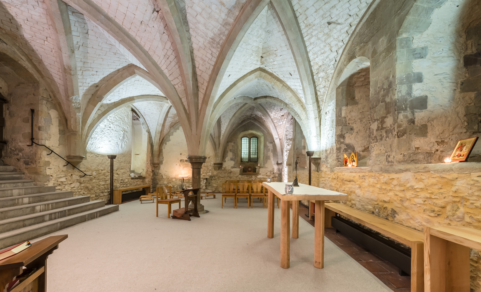 Lambeth Palace Crypt 2017 by Alex Baker Photography